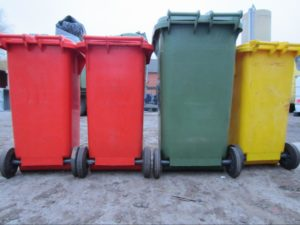 vuilnisbakkenin plastiek